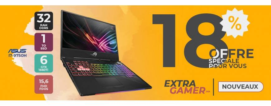 Achat PC Portables Gamer - ExtraGamer.ma