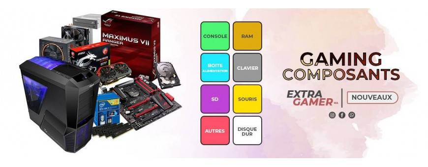 Achat Les Composants - ExtraGamer.ma